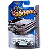 2013 Hot Wheels Hw City - Toyota AE-86 Corolla - White