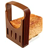 Product review for Vangoddy Foldable Adjustable Compact Bread Cutter Toast Slicer (Coffe)