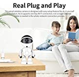 HD 1080P Cloud Home Security Robot Intelligent