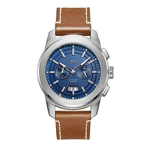 JBW Men's J6352D Mohawk 0.12 ctw Stainless Steel Diamond Watch