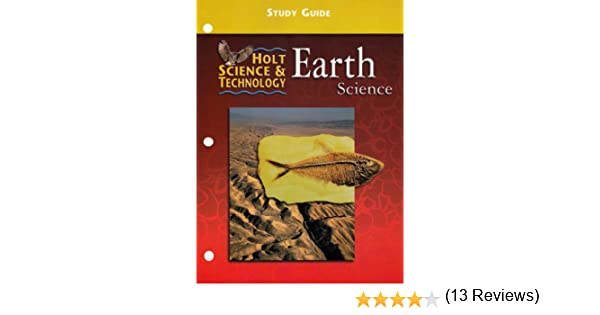 Earth Science : Study Guide ( Holt Science & Technology): Harcourt ...