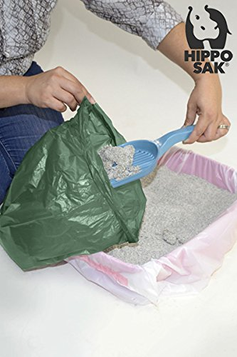 Hippo Sak Extra Large Pet Poop Bags for Large Dogs and Cat Litter, 240 Count by Hippo Sak (Image #6)