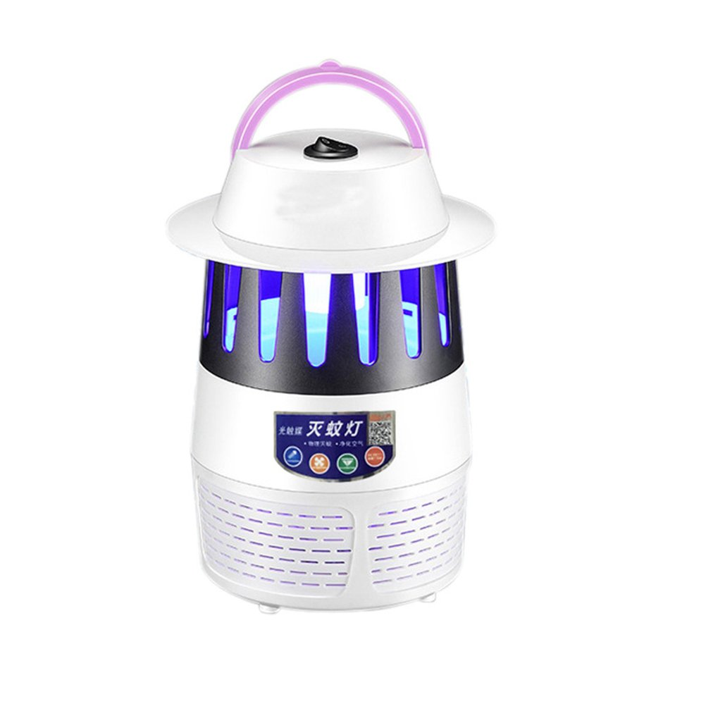 VORCOOL Electronic Mosquito Killer Lamp LED Bug Zapper Insect Repellent USB Photocatalyst Fly Killer for Bedroom Living Room