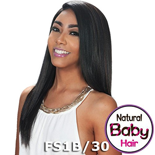 Sis Slay Natural Baby Hair Lace Front Wig - BIEN (1B Off Black)