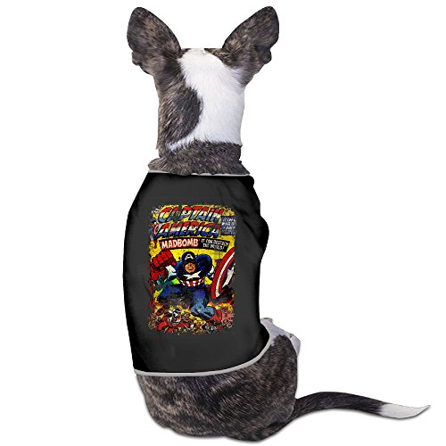 Cool Captain Americas Comic Movie Pet Dog T Shirt. for $<!---->