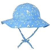ThunderCloud Children's 50+ SPF UV Protective Bucket Hat,Octopus,0-12 Months