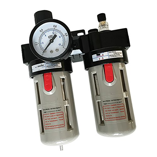 Jili Online 1pcs BFC-3000 Air Filter Regulator Lubricator Combos Source Treatment Unit by Jili Online