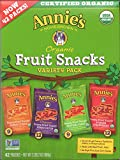 Annie's Homegrown Organic Vegan Fruit Snacks Variety Pack 42 Pouches - .8 Oz. Each