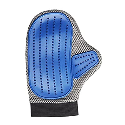 SOGODE Pet Grooming Glove,Best Cat and Dog Grooming Brush,Easily Grooming Long and Short Hair with a Massage