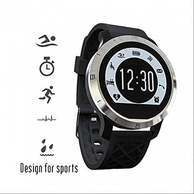 Fitness smart watch Montres connectées Montres de Sport,Alertes Appel SMS,Podomètres,Sommeil chronomètre,Compteur de Calories,Design Elégant,Alarme Vibrante ...