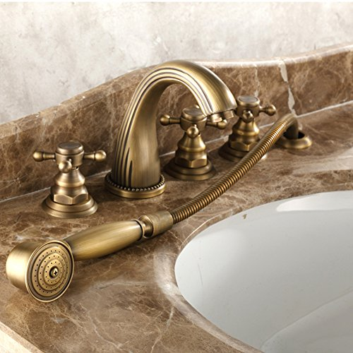 5 piece kitchen faucet set - 8