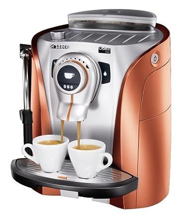 Saeco Odea Giro Naranja/Plata de/Espresso Cafetera ...