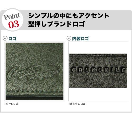 bcd77f618cdf Amazon | Crocodile(クロコダイル) 本革ラムスキン 長財布[81cr21] チャ | 財布