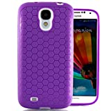 Hyperion Samsung Galaxy Note 3 HoneyComb Matte TPU Case / Cover for the Extended Battery **Hyperion Retail Packaging** [2 Year NO HASSLE Warranty] (PURPLE)