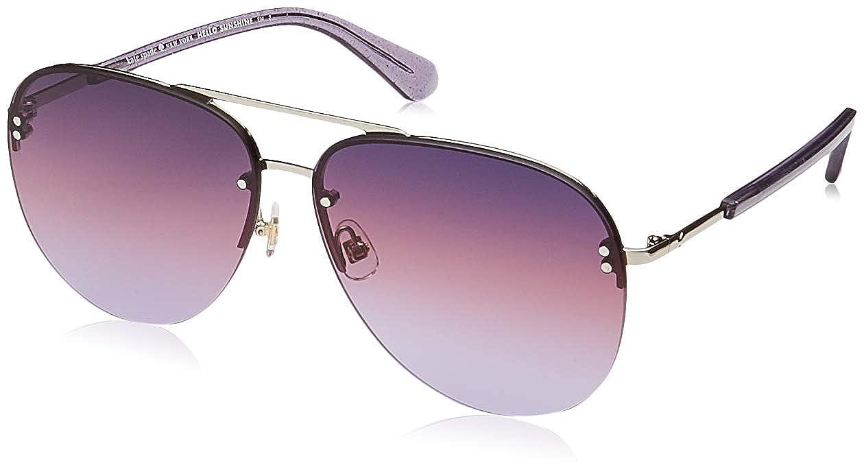 3017591f23 Amazon.com  Kate Spade Jakayla S YB7 Silver Jakayla S Round Sunglasses Lens  Category 2 Size  Kate Spade  Clothing