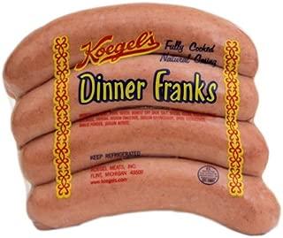 product image for Koegel Dinner Franks 1/4 lb each Qty. 20