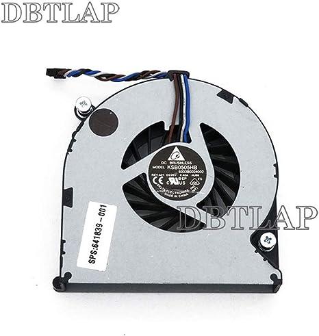 DBTLAP Laptop Compatible for HP Elitebook 8460P 8460w 8450p 4535S 4530S 646285-001 6033B0024002 4730S CPU Cooling Fan
