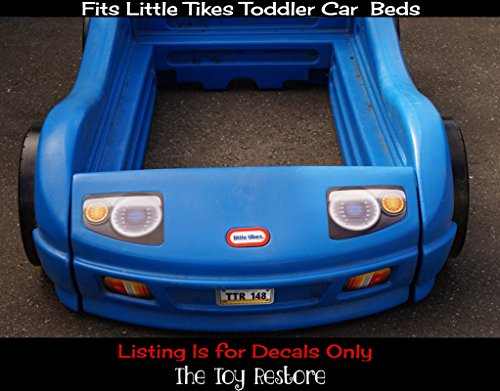 Replacement Decals Stickers Fits Little Tikes Blue Toddler ...