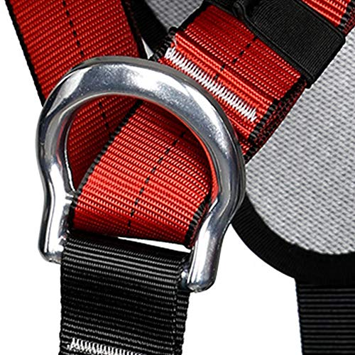 Climbing Safety Belt fire Rescue high Altitude School Operation Rock Climbing Rock Climbing Rappelling Equipment Body Protector Protection by HENRYY (Image #4)