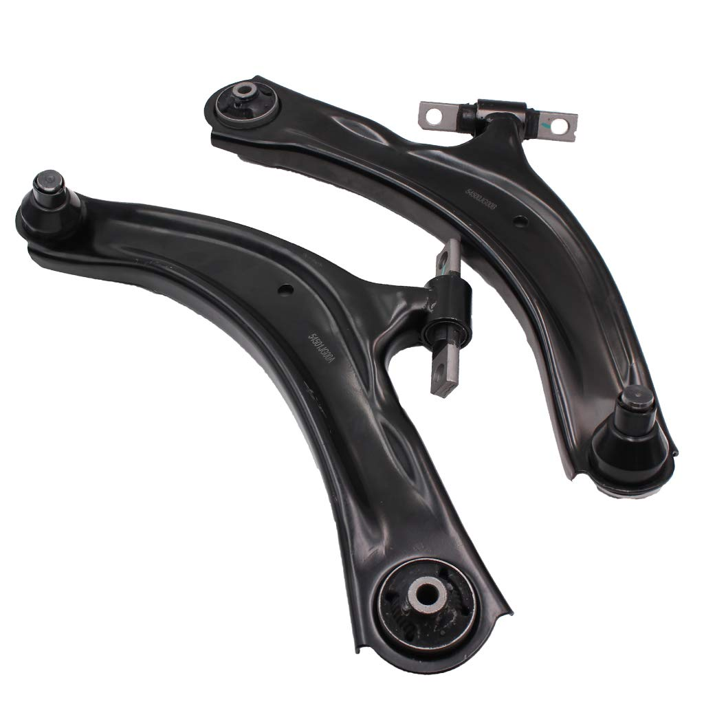 MACEL 2 Pcs MS30194 MS30195 Suspension Front Lower Left Right Control Arm Assembly for 2008-2013 Nissan Rogue 2014-2015 Nissan Rogue Select