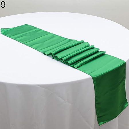 Jiacheng29_ - Camino de Mesa (22,8 x 30,5 cm), Color Verde: Amazon ...