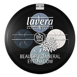 lavera Fard à paupières – Beautiful Mineral Eyeshadow – Blue Platinum 07- poudres compactées – vegan – Cosmétiques…