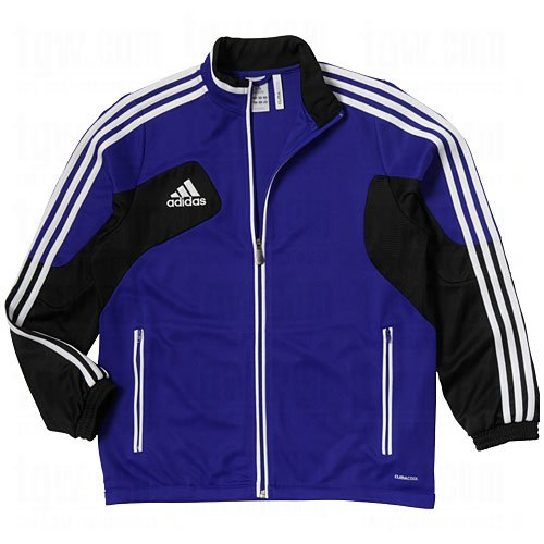 New Adidas Boys' Condivo 12 Youth Soccer Training Jacket Cobalt/Black/White Kids - Youth Up Warm Jacket