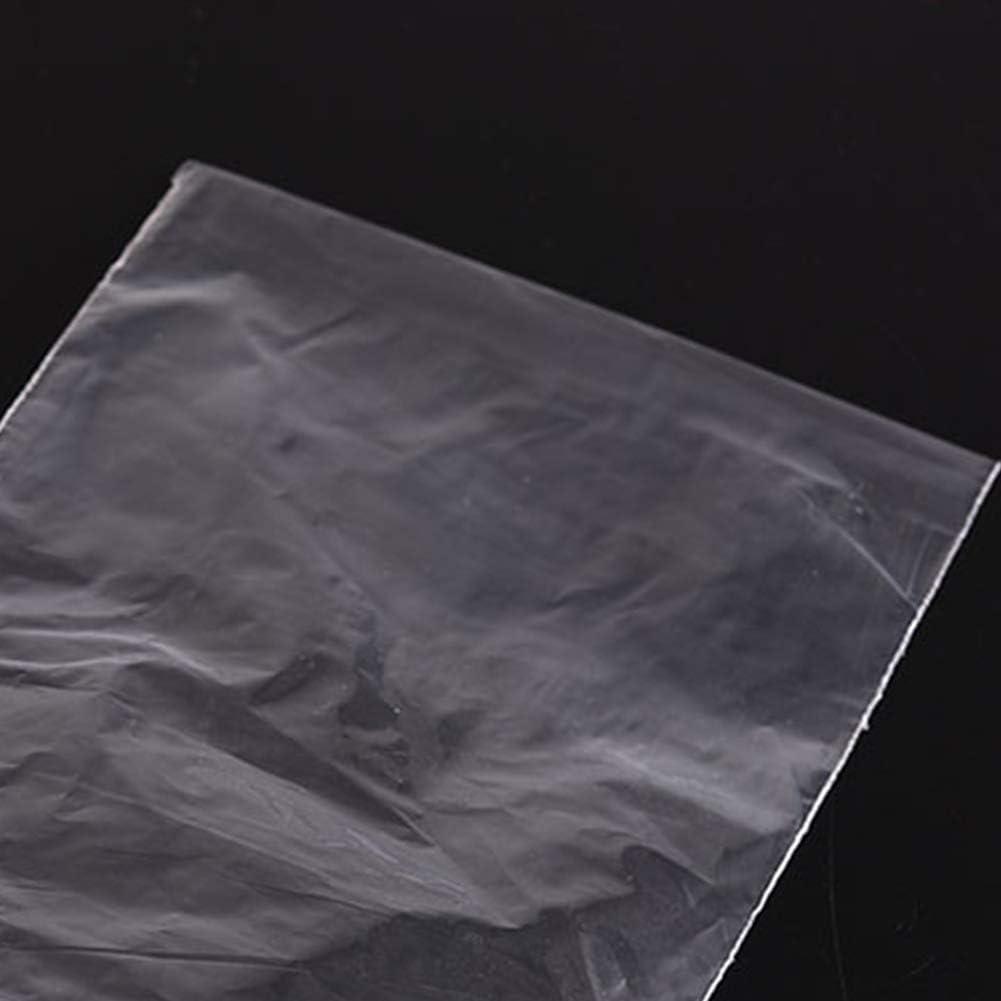 Naisicatar 100Pcs PE con Cierre de Cremallera Bolsa de pl/ástico Transparente Ziplock joyer/ía Zip Zip Lock Puede Volver a Cerrar pl/ástico Poli Claro Bolsas Bolsa de envases peque/ños 9 * 6cm