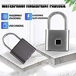 Intelligente-Fingerprint-Lucchetto-di-piccola-dimensione-lucchetto-del-Governo-la-serratura-Dormitorio-antifurto-blocco-O10-10-Silvery-Impronta-Digitale-Sblocco-Color-Silver