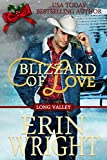 Blizzard of Love: A Western Holiday Romance Novella (Long Valley Book 2)