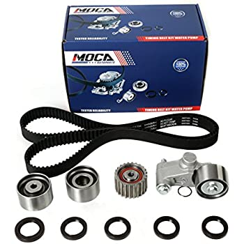 Timing Belt Kit with Tensioner for 1999-2008 Subaru Impreza & Forester & Outback Legacy 2.5L EJ22 EJ25 Engine #TCK304A