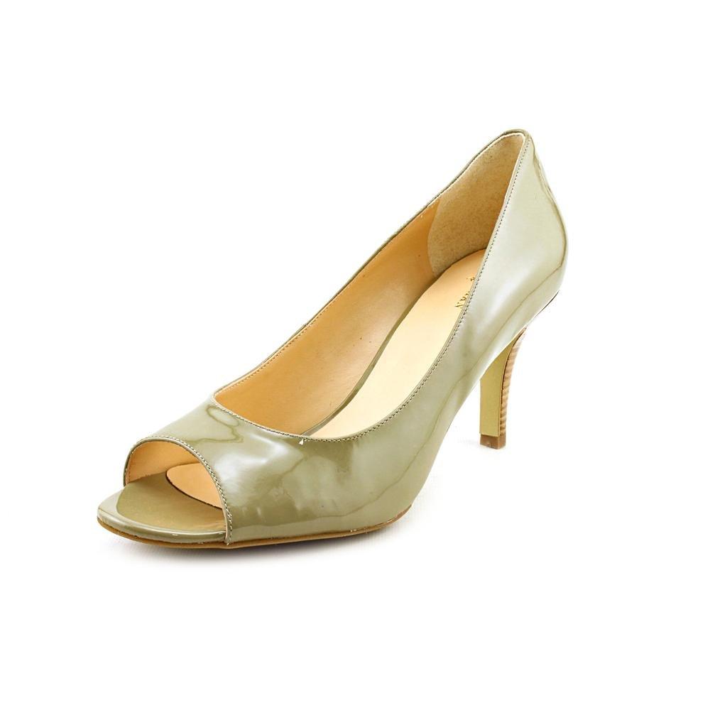 Cole Haan Air Lainey Summer Khaki Patent Ot Pump D40719 Women Size 8 M