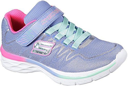 Girl Skechers Kids Strap Dream N' Dash Perwinkle Girls Sneaker Mint Whimsy Velcro UqYrqxZd