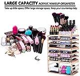 HBlife Makeup Organizer Acrylic Cosmetic Storage