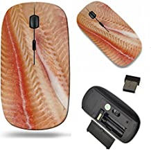 MSD Wireless Mouse Travel 2.4G Wireless Mice with USB Receiver, Noiseless and Silent Click with 1000 DPI for notebook, pc, laptop, computer, mac book design 20749023 Pangasius fillets of raw fish macr