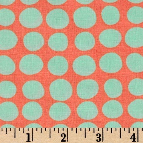 Butler Love Sunspots Tangerine Fabric product image