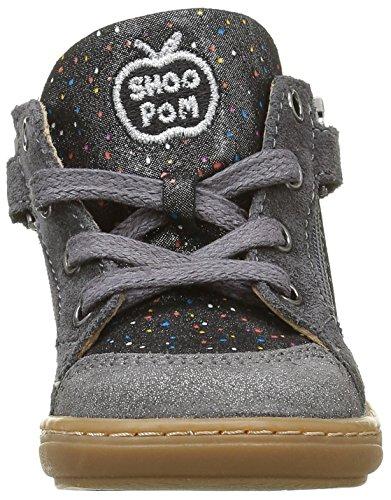 Shoo Pom Bouba Bi Z - Zapatos de primeros pasos Bebé-Niños Gris - Gris (Jelly Metal Acier)
