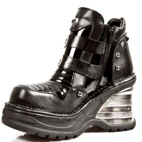 Schwarz NEWROCK M Damen NR Rock S1 New 8330 Stiefel TqIg5qz