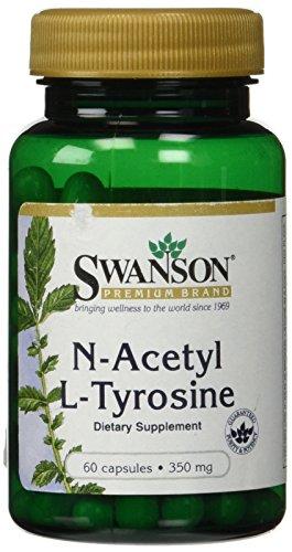 N-acétyl L-Tyrosine 350 mg 60 gelules