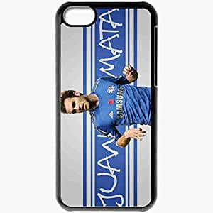 Personalized iPhone 5C Cell phone Case/Cover Skin 2013 best juan mata Black