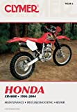 Honda Xr400r, 1996-2004, Clymer Publications Staff and Penton Staff, 0892879246