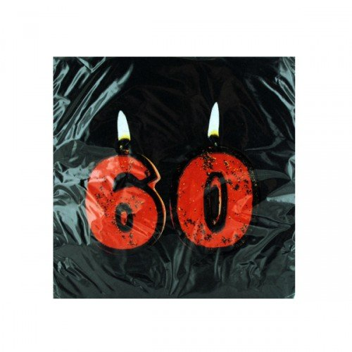 UPC 073525898841, Get Lit 60th Birthday Lunch Napkins 18 Per Pack