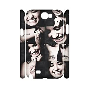 C-EUR Demi Lovato Customized Hard 3D Case For Samsung Galaxy Note 2 N7100
