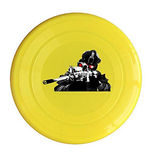 Logon 8 Custom Design Of The Call Of Duty Shoot Pet Flying Discs Yellow Diameter 23cm (Austin Powers Ladies)