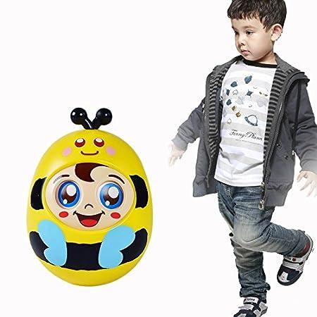 OFKPO Bebé Tumbler Bee Roly Poly Toy para Gatear Niños Pequeños ...