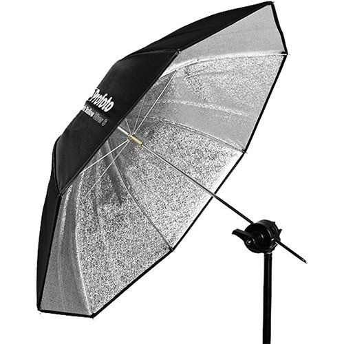 Profoto Shallow Silver Umbrella, Small, 33'' (83.82cm)