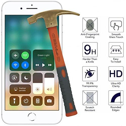 Todo Phone Store–Pellicola proteggi schermo vetro temperato vetro Antiurto Premium per Apple Iphone 8Plus 4G 5.5