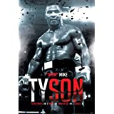 Mike Tyson Boxing Record Sports Poster 24x36