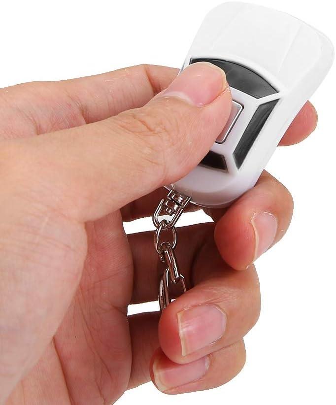 Mini Auto Form Anti-Lost Key Locator Keychain Pfeife Beep Sound Control mit LED Fashlight f/ür Geldb/örsen//Auto//Haustiere//Kinder//Taschen Schl/üsselfinder