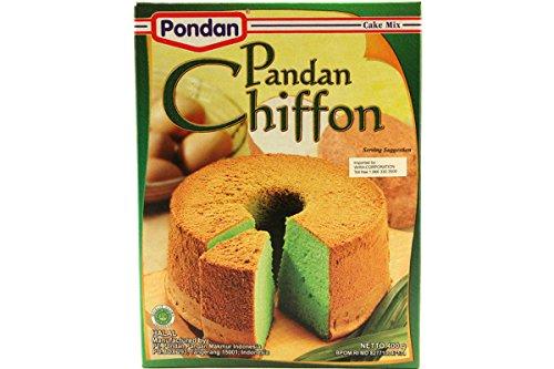 Cake Mix Pandan Chiffon (Kue Bolu Hijau) - 14.11oz (Pack of 1)